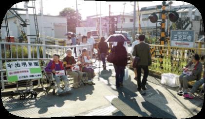 赤い羽根共同街頭募金活動