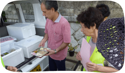 地域への配食サービス